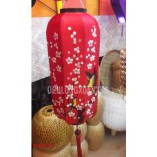 Đèn Lồng Nhật Vẽ Hoa  và Chim