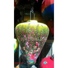 Đèn lồng tỏi vải hoa kiêu MXC