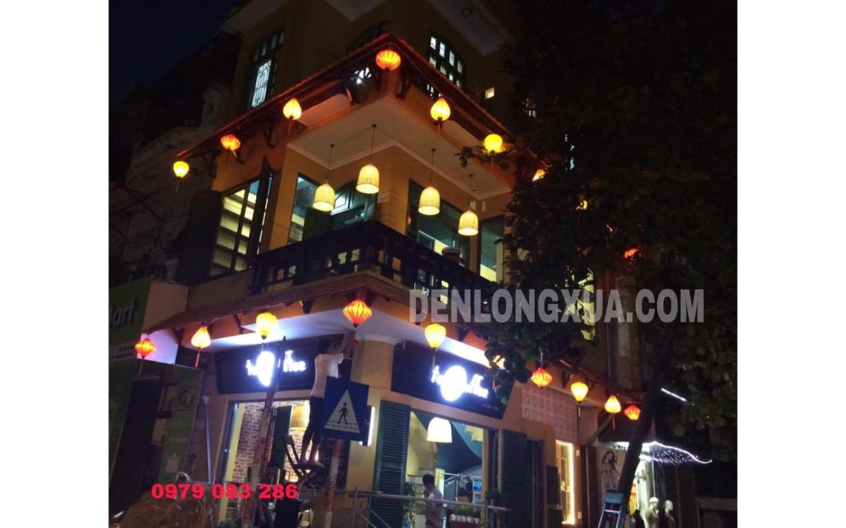 Lồng đèn trang trí quán cafe