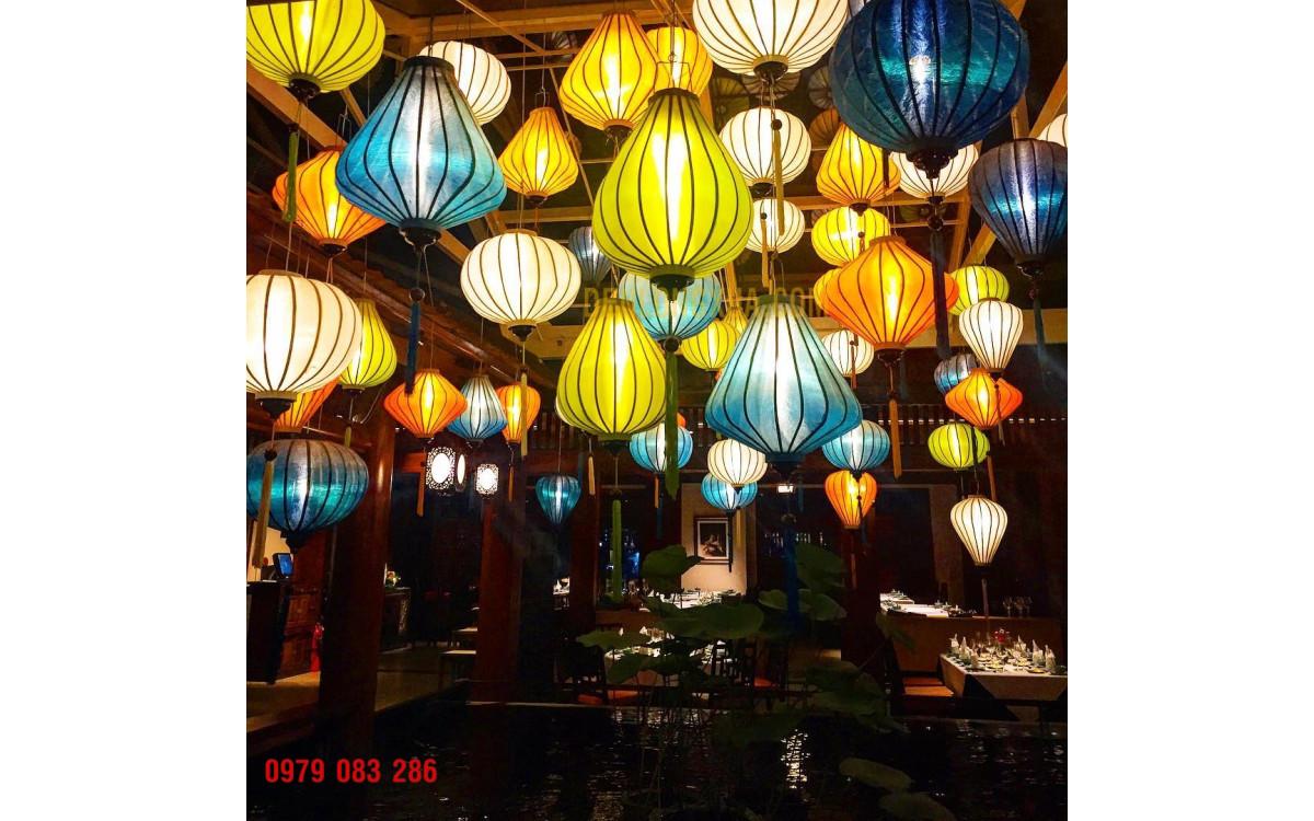 Đèn lồng tạo không gian trang trí đẹp