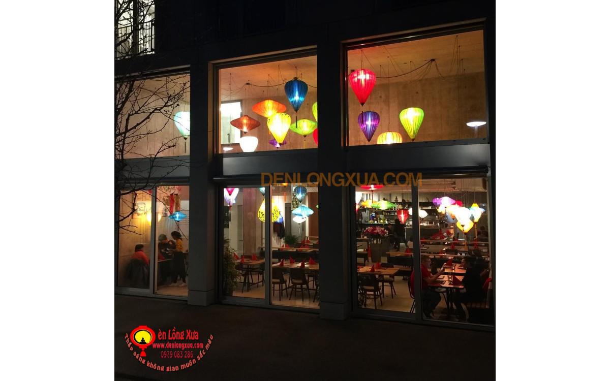 Đèn lồng trang trí trong nhà hàng
