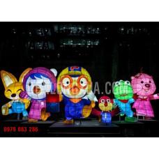 Đèn lồng mô hình cỡ lớn nhân vật hoạt hình